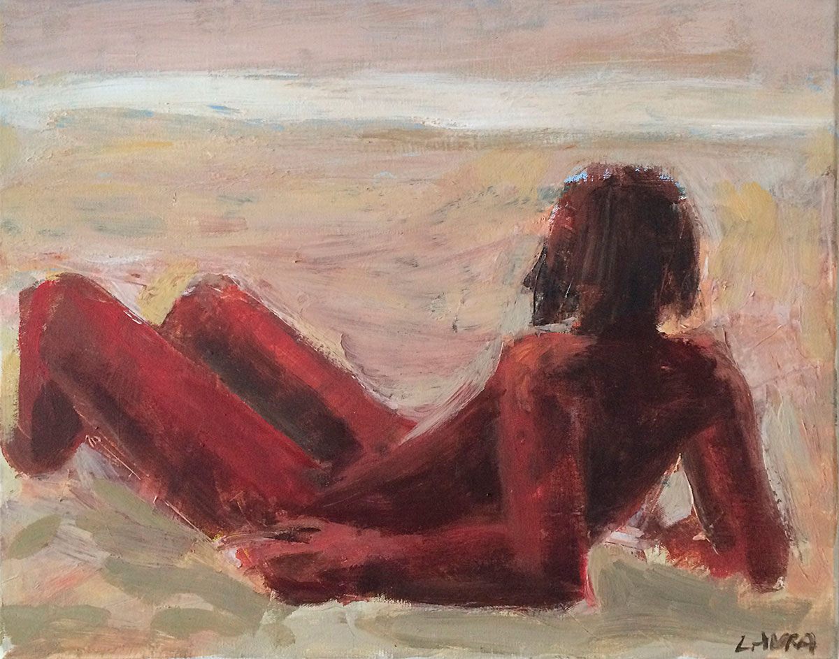 Image of Painting by Laura Fraser - On The Beach