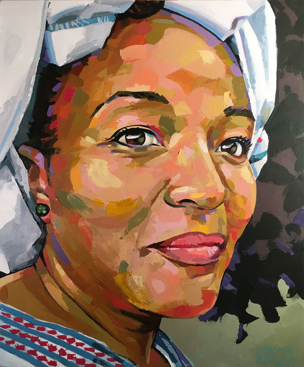 Image of painting, South African Woman